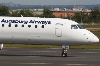 D-AEMA - Augsburg Airways - Lufthansa Regional Embraer ERJ-195 (190-200)