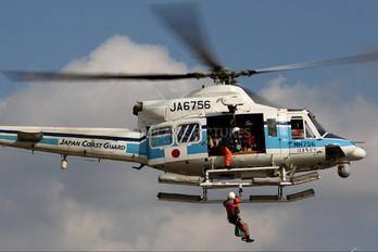 JA6756 - Japan - Coast Guard Bell 412EP
