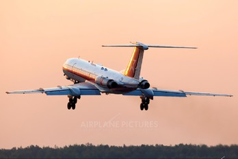 12 - Russia - Air Force Tupolev Tu-134