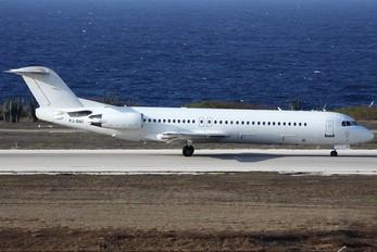 PJ-DAC - Dutch Antilles Express Fokker 100