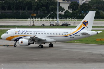 LZ-AOA - Myanmar Airways International Airbus A319
