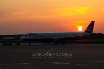 G-EUXL - British Airways Airbus A321