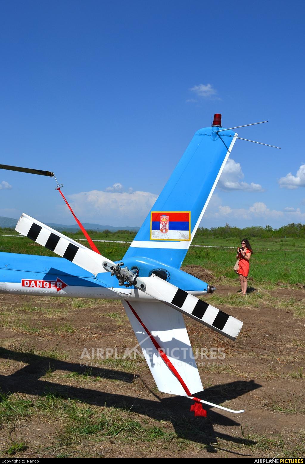 Serbia - Police YU-HBV aircraft at Bor