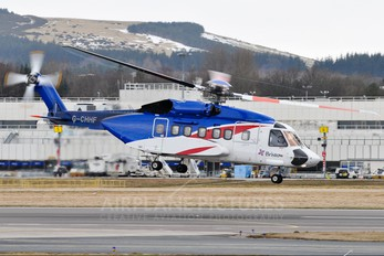 G-CHHF - Bristow Helicopters Sikorsky S-92