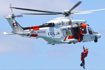 EC-LJA - Spain - Coast Guard Agusta Westland AW139