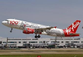 9M-AQH - AirAsia (Malaysia) Airbus A320