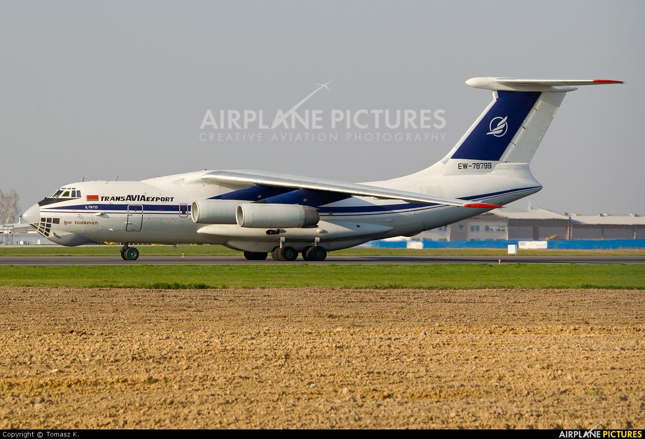 TransAviaExport EW-78799 aircraft at Rzeszów-Jasionka
