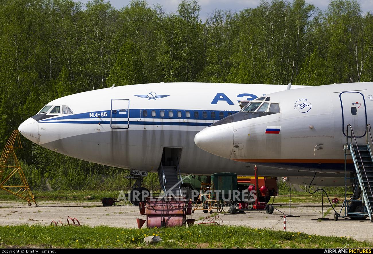Aeroflot RA-86103 aircraft at Moscow - Sheremetyevo