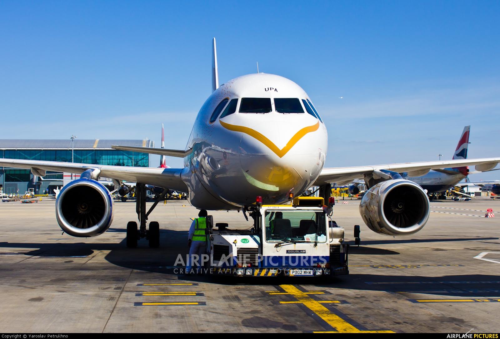 British Airways G-EUPA aircraft at London - Heathrow