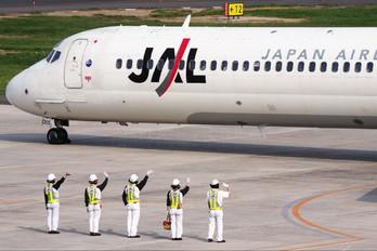JA8066 - JAL - Japan Airlines McDonnell Douglas MD-90