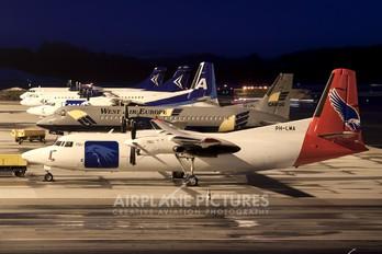 PH-LMA - AmaPola Flyg Fokker 50F