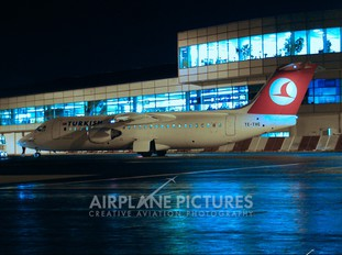 TC-THC - Turkish Airlines British Aerospace BAe 146-100/Avro RJ70