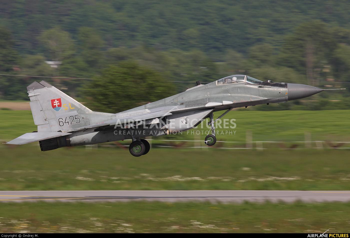 Slovakia -  Air Force 6425 aircraft at Sliač