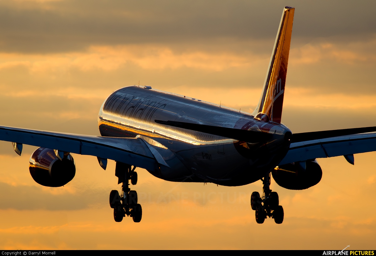 Virgin Atlantic G-VRAY aircraft at London - Heathrow