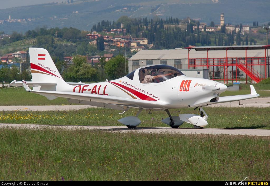 Private OE-ALL aircraft at Verona - Boscomantico