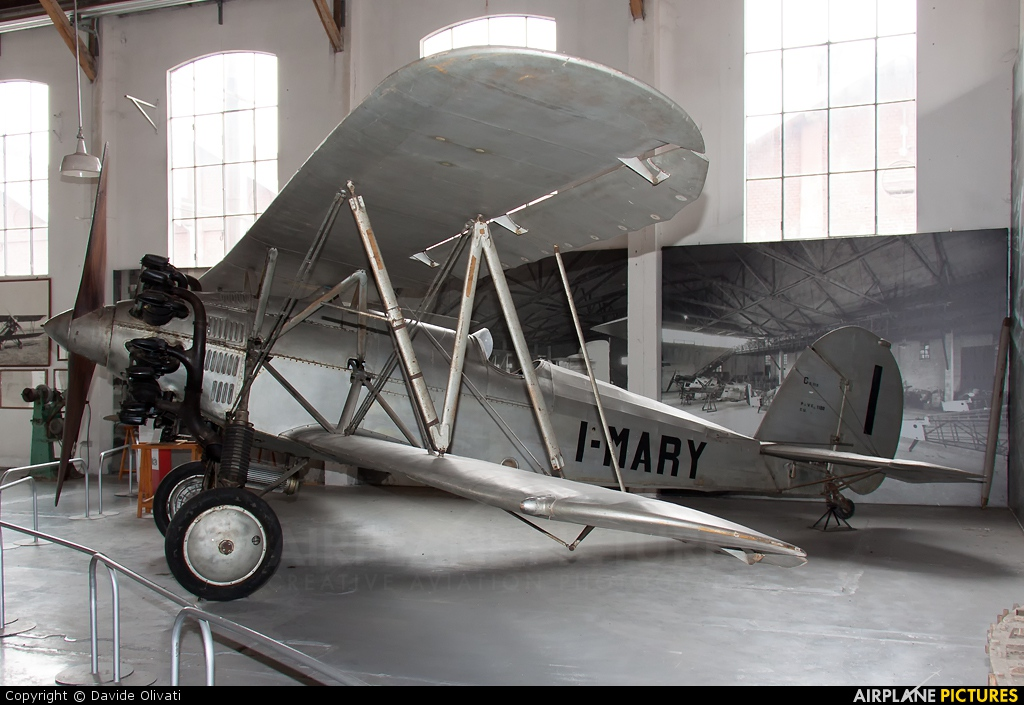 Private I-MARY aircraft at Milan -  Volandia Aviation Museum