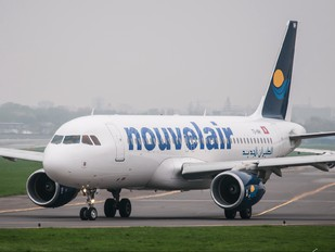 TS-INH - Nouvelair Airbus A320