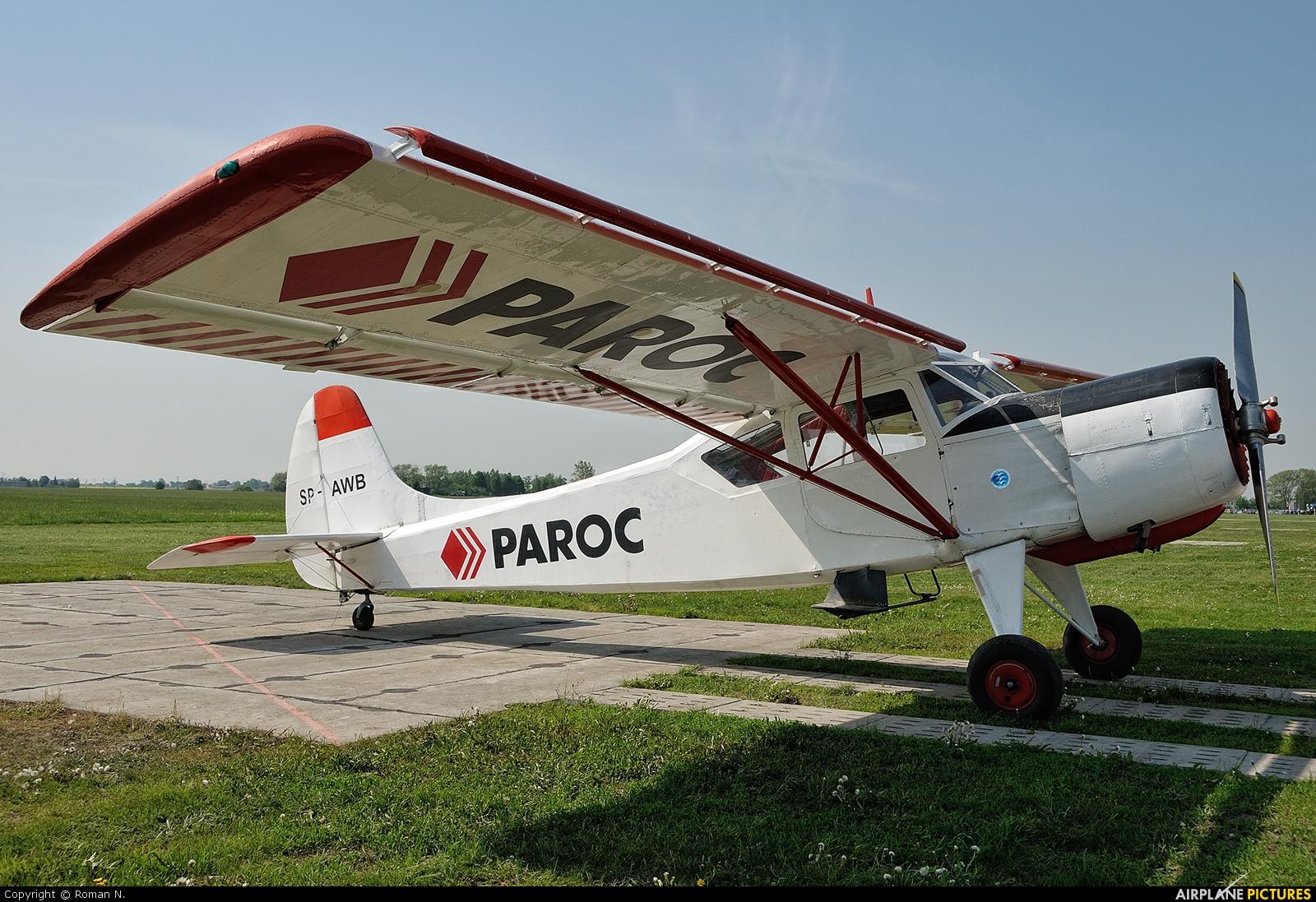 Aeroklub Kujawski SP-AWB aircraft at Inowrocław - Latkowo