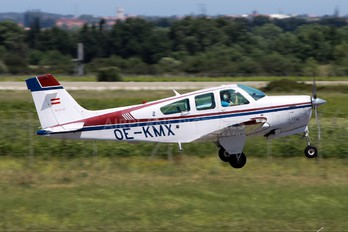 OE-KMX - Private Beechcraft 33 Debonair / Bonanza