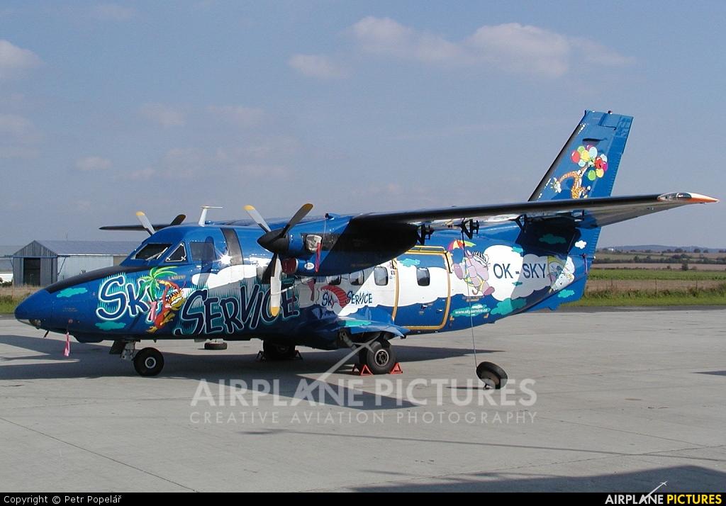 Skyservice Airlines OK-SKY aircraft at Příbram