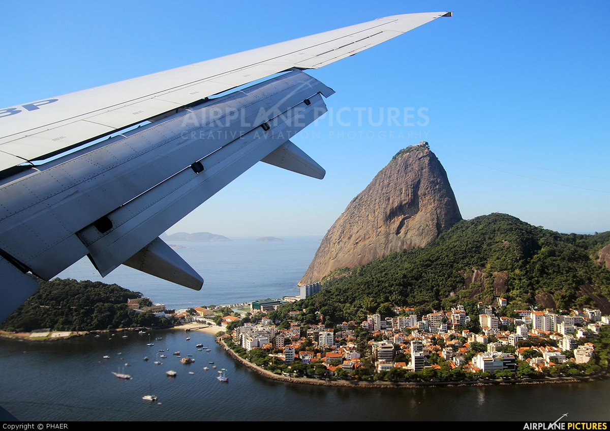 VARIG PR-VBP aircraft at Rio de Janeiro - Santos Dumont