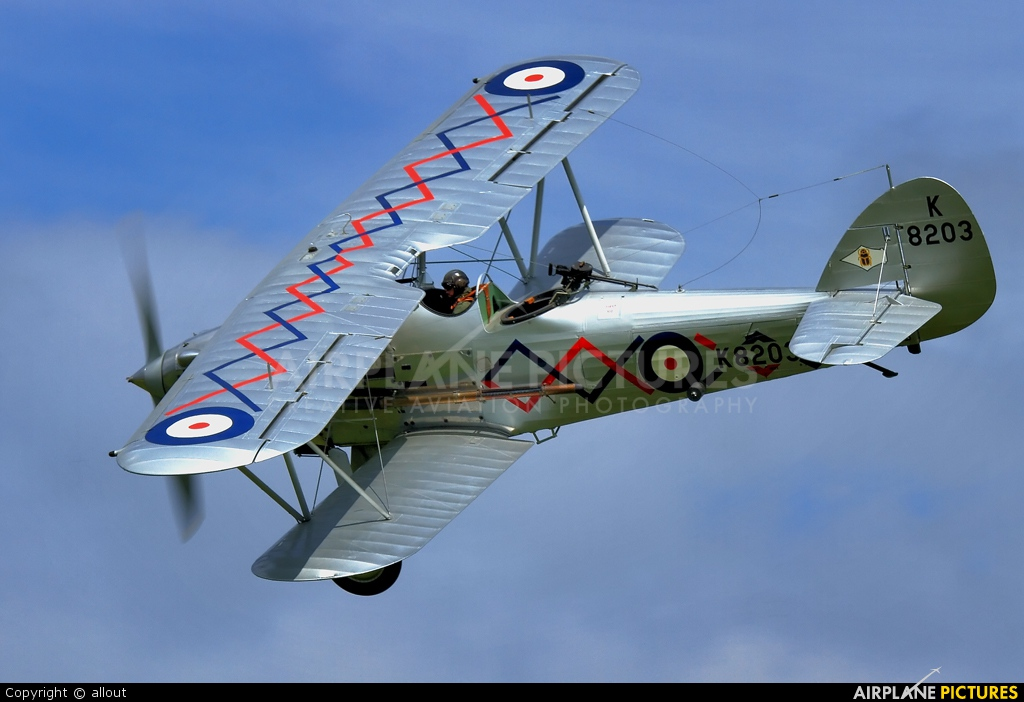 Demon Displays G-BTVE aircraft at Old Warden