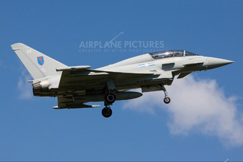 ZK381 - Royal Air Force Eurofighter Typhoon T.3