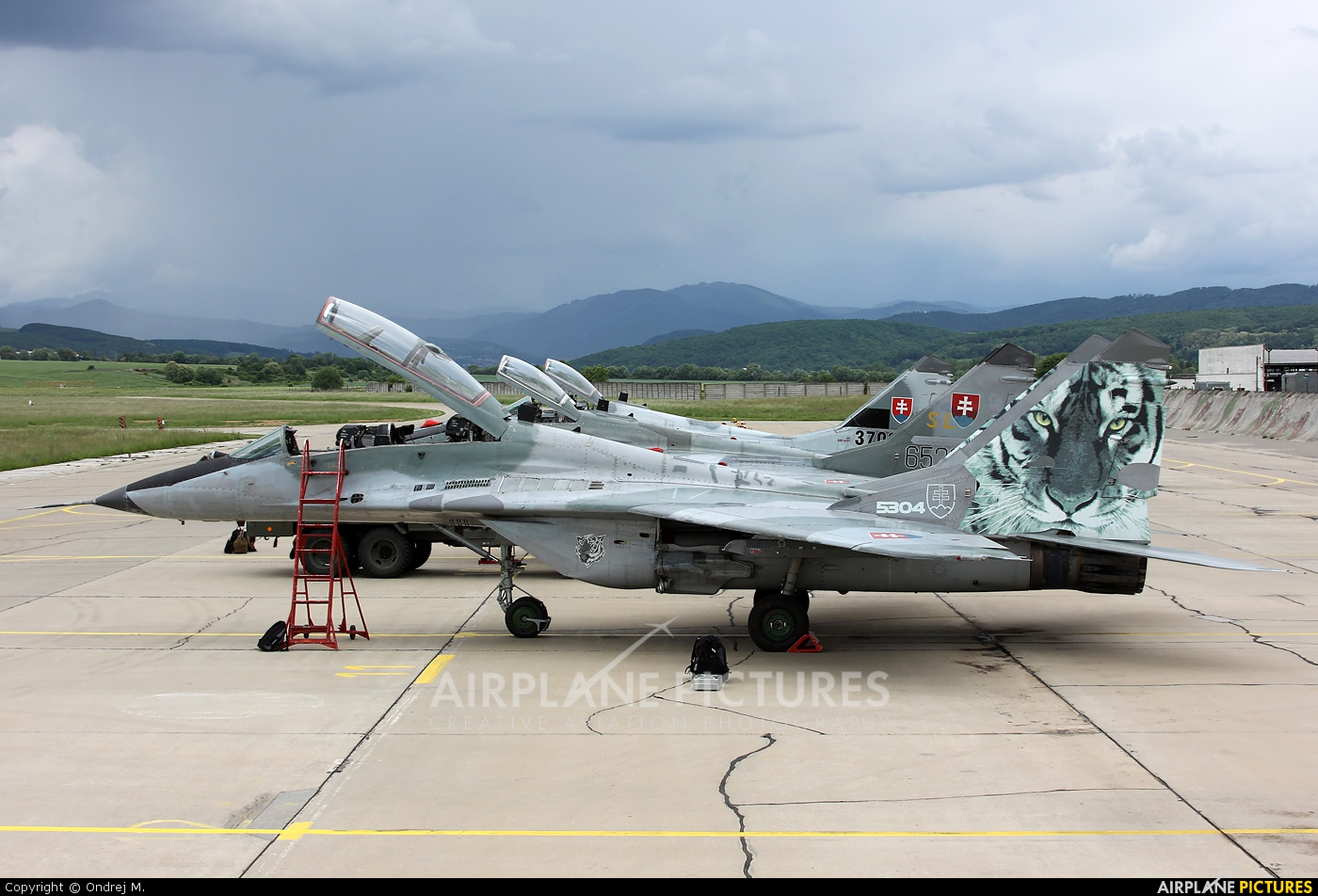 Slovakia -  Air Force 5304 aircraft at Sliač
