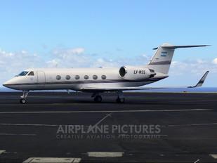 LV-WSS - Private Gulfstream Aerospace G-IV,  G-IV-SP, G-IV-X, G300, G350, G400, G450