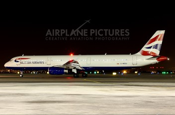 G-MEDU - British Airways Airbus A321