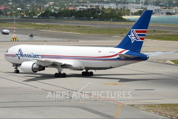 N743AX - Amerijet International Boeing 767-200F