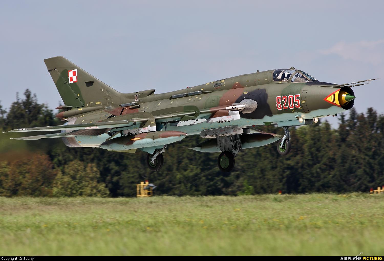 Poland - Air Force 8205 aircraft at Náměšť nad Oslavou