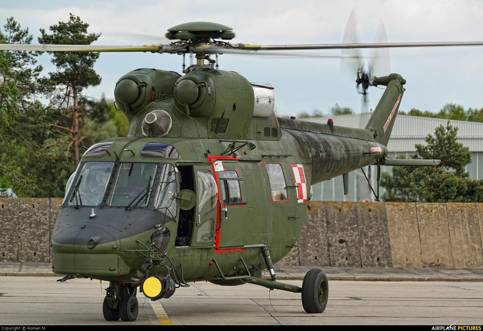 Poland - Air Force 0701 aircraft at Świdwin