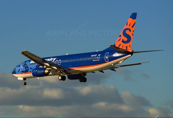 N813SY - Sun Country Airlines Boeing 737-800