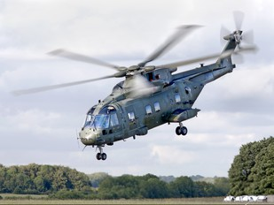 ZJ120 - Royal Air Force Agusta Westland AW101 411 Merlin HC.3