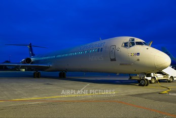 OY-KHN - SAS - Scandinavian Airlines McDonnell Douglas MD-81