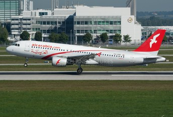 SU-AAC - Air Arabia (Egypt) Airbus A320