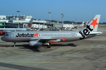 9V-JSQ - Jetstar Asia Airbus A320