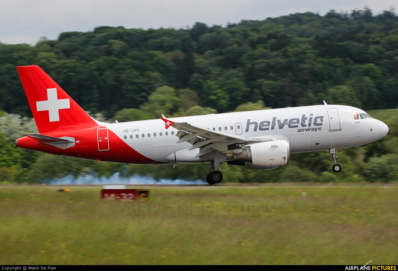 Helvetic Airways Airbus A319 repaint request for Project Airbus - FS2004