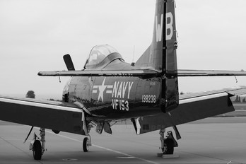 N313WB - Private North American T-28B Trojan