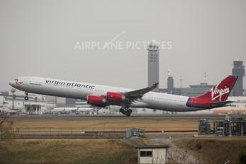 G-VGOA - Virgin Atlantic Airbus A340-600