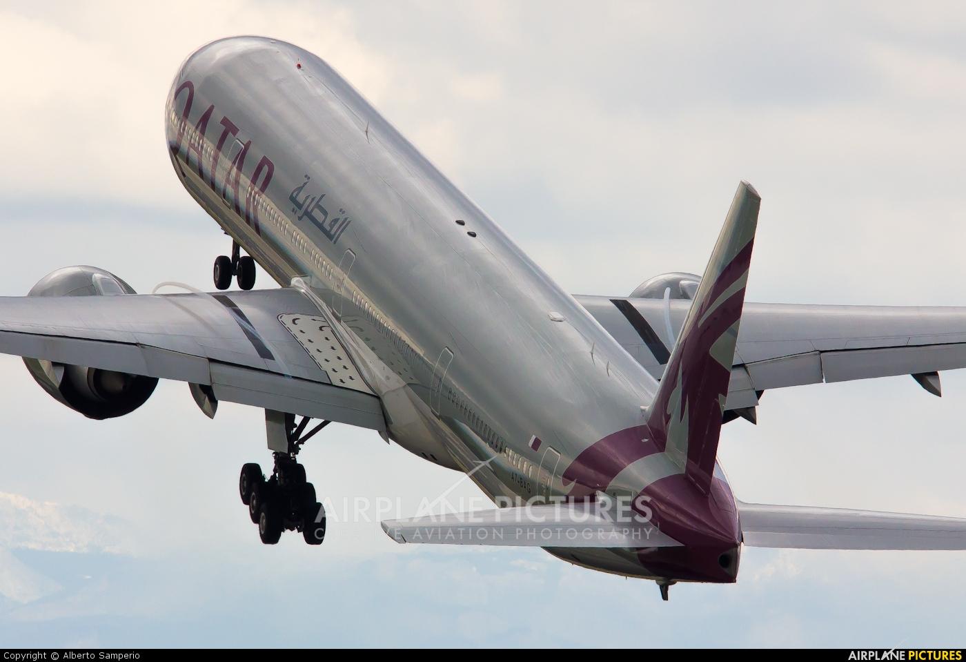 Qatar Airways A7-BAG aircraft at Madrid - Barajas