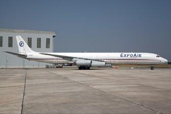 4R-EXJ - ExpoAir Douglas DC-8-63F