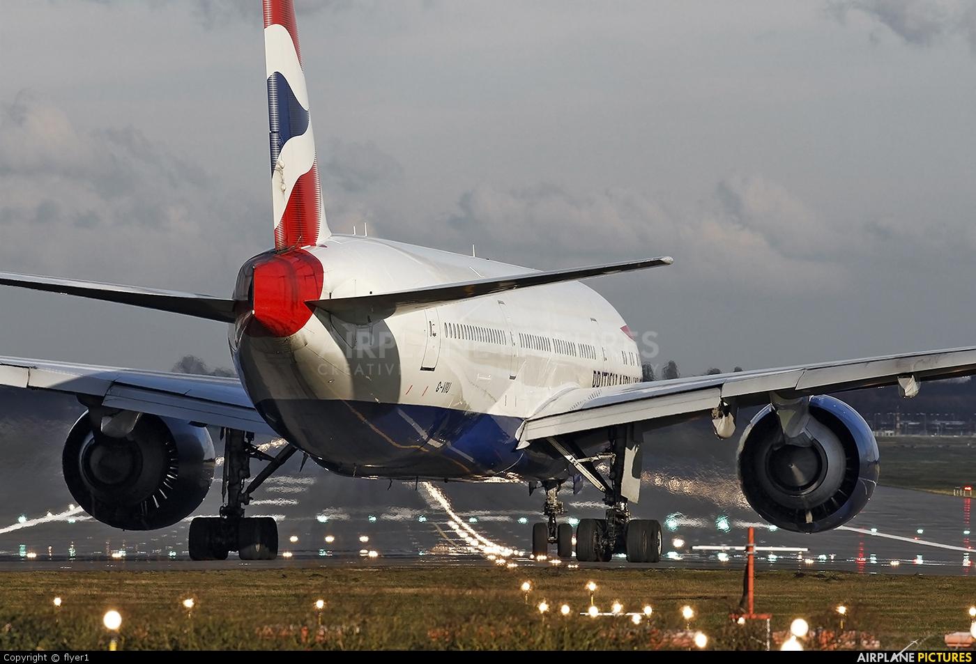 British Airways G-VIIO aircraft at London - Gatwick