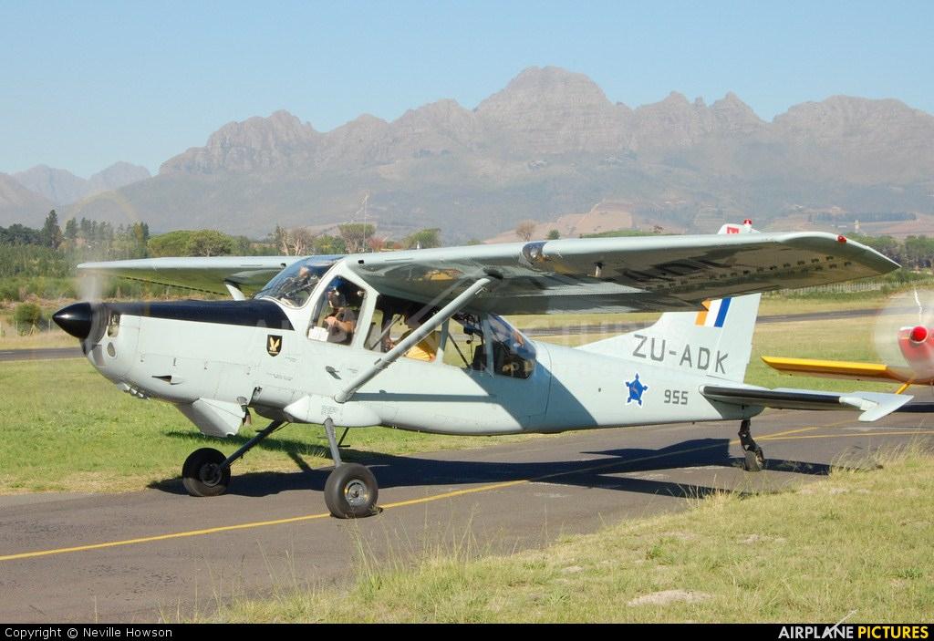 Private ZU-ADK aircraft at Stellenbosch
