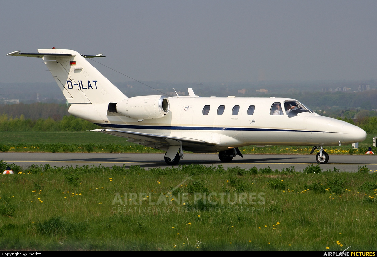 Private D-ILAT aircraft at Dortmund - Wickede