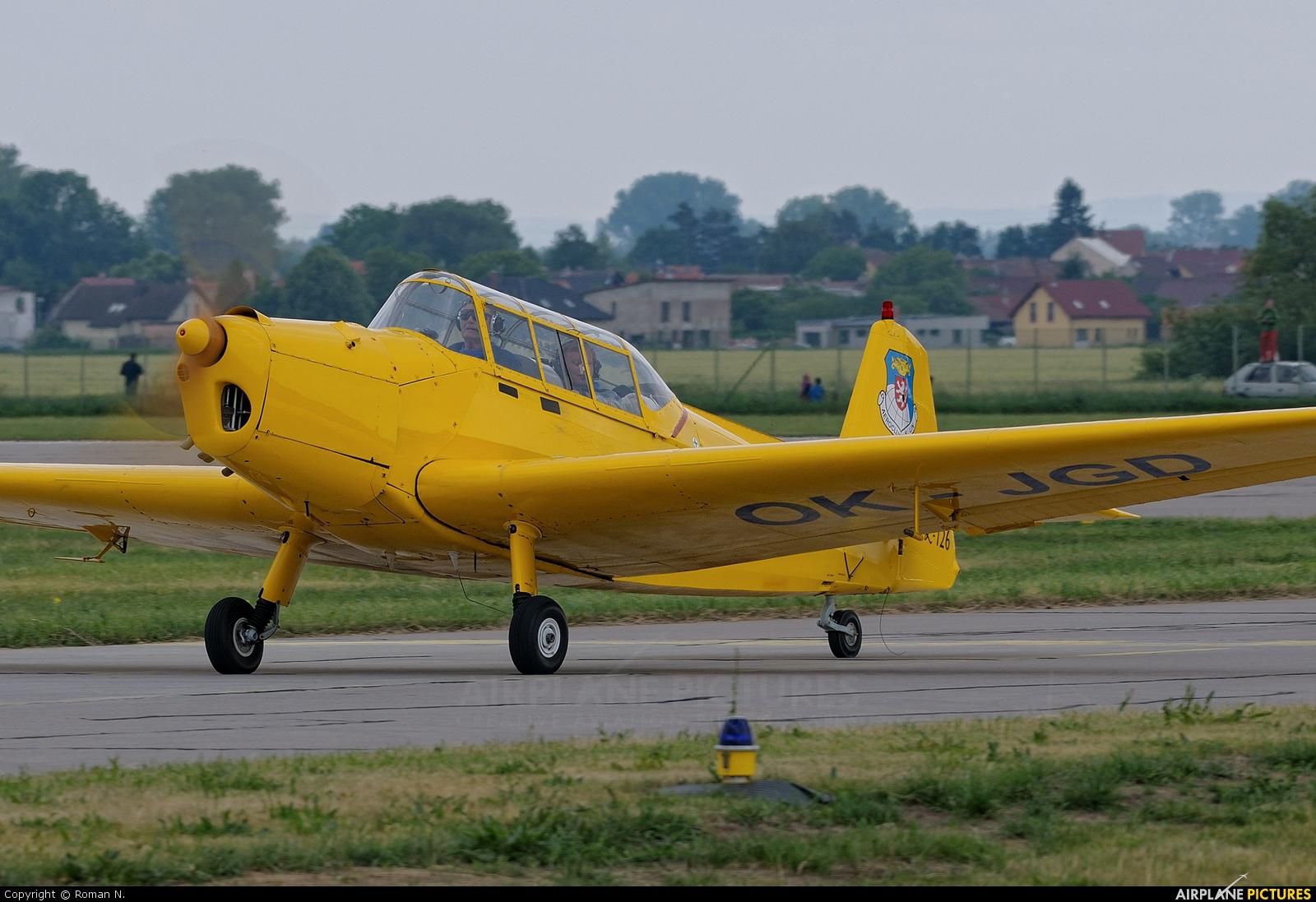 Aeroklub Kolín OK-JGD aircraft at Pardubice