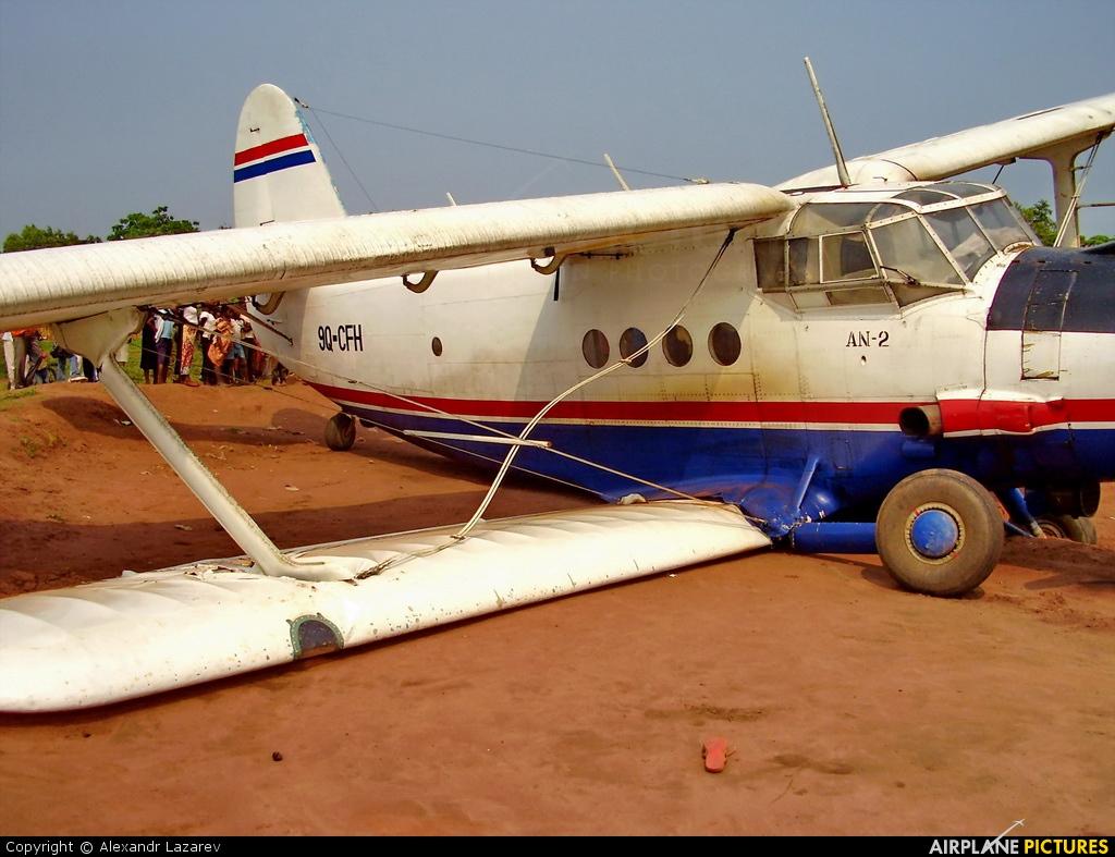 Air Kasai  9Q-CFH aircraft at Off Airport - Congo, Republic