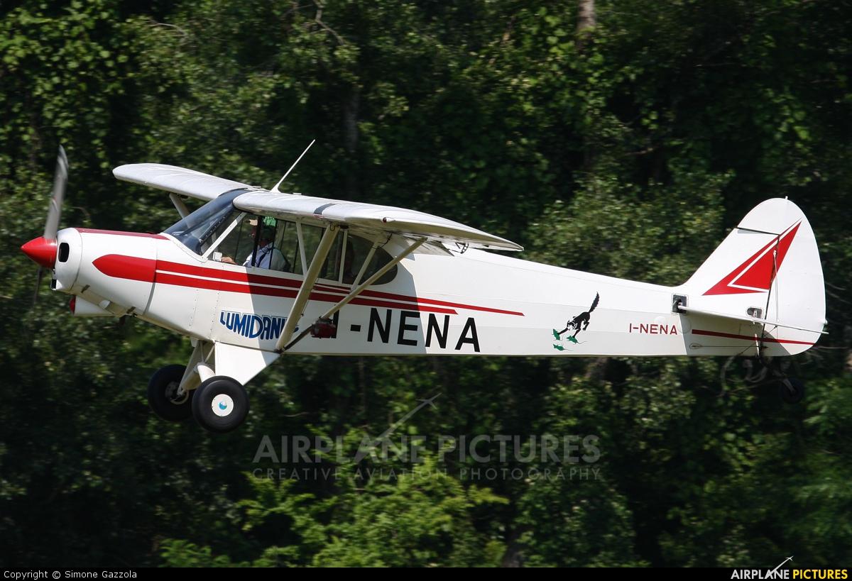 Private I-NENA aircraft at Nervesa della Battaglia