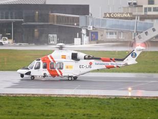 EC-LIS - Spain - Coast Guard Agusta Westland AW139